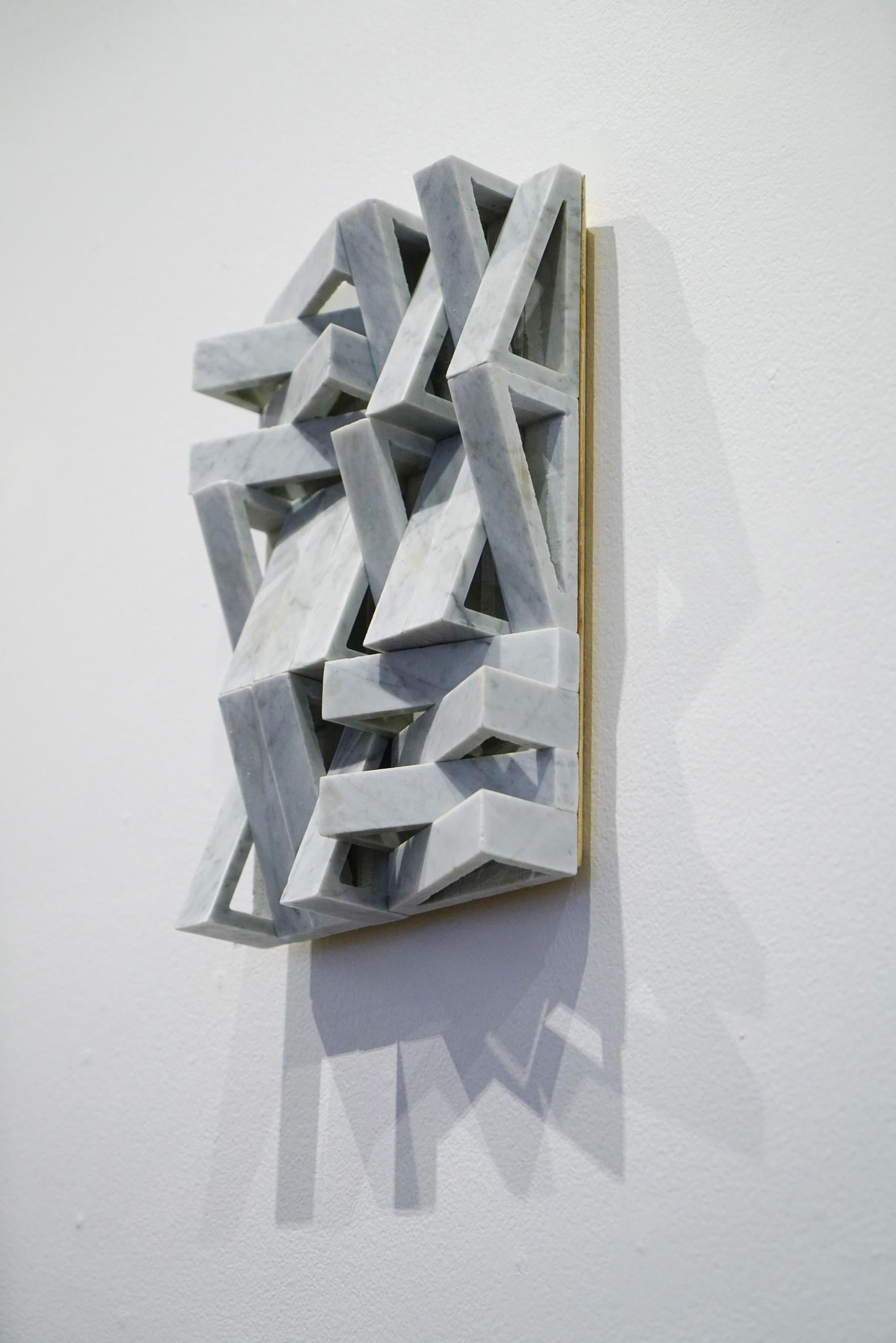 MRS3 1.1 2018 Carrar marble & plywood 36cm x 24cm x 8cm