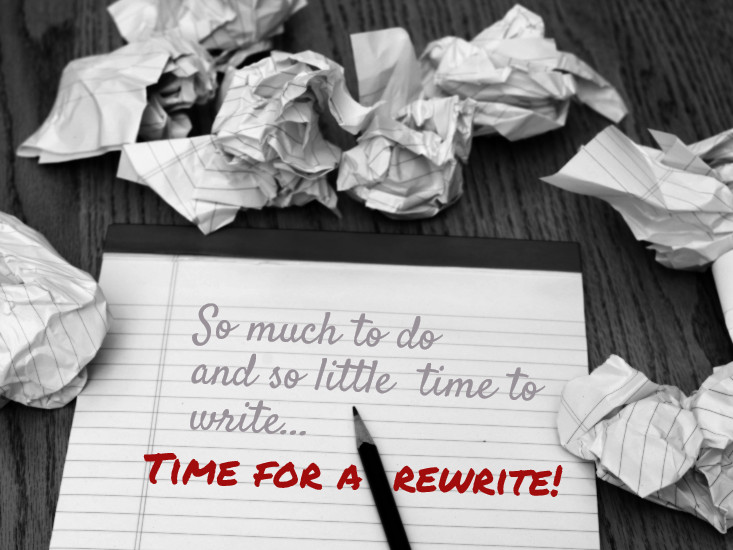 So much to write!
