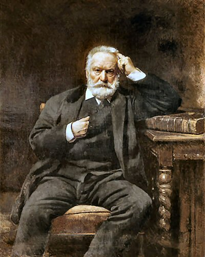 This famous writer took it a step further than me... French novelist Victor Hugo wrote both  Les Misérables  and  The Hunchback Of Notre-Dame  in the nude.