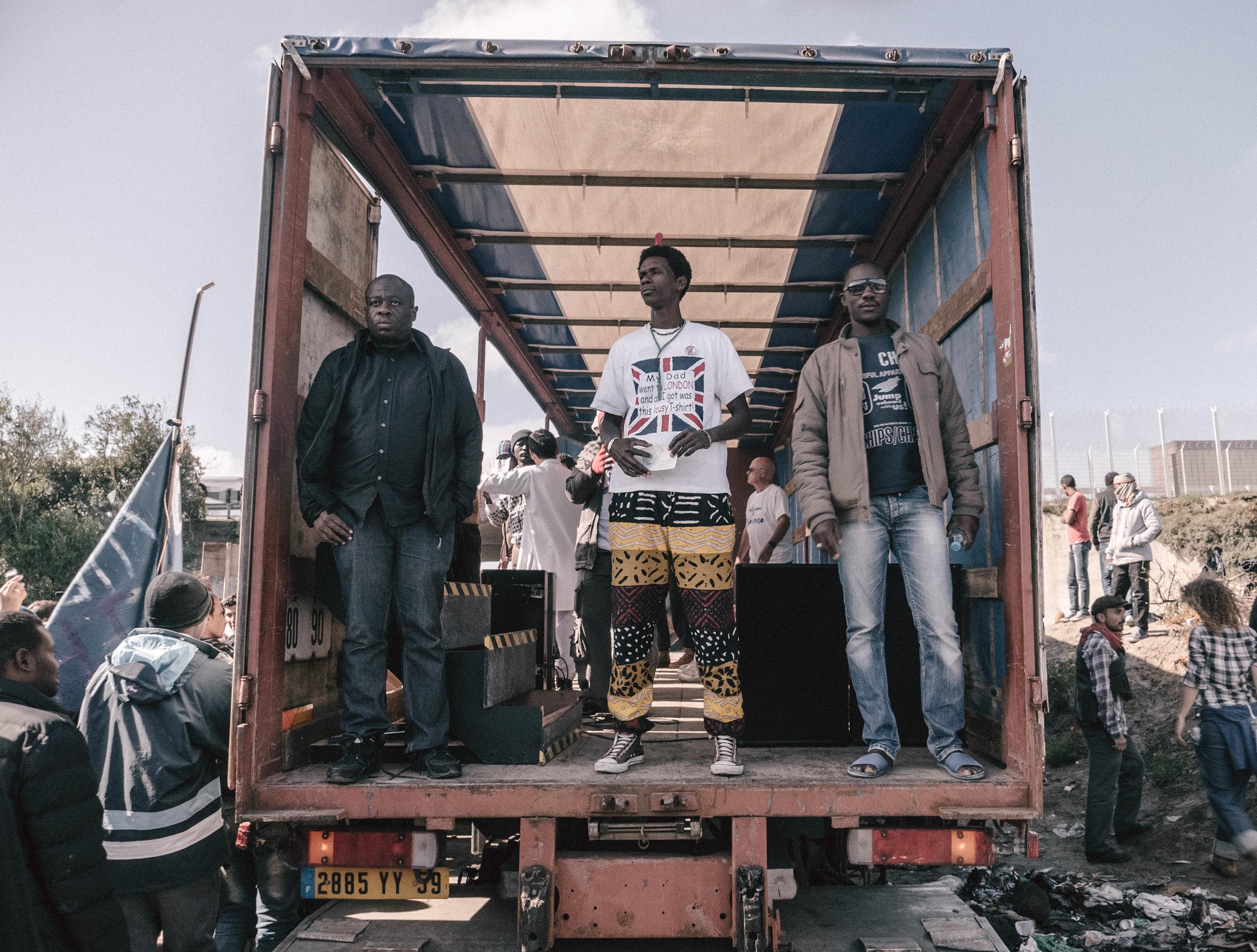 """Calais Refugee Camp """"The Jungle"""""""