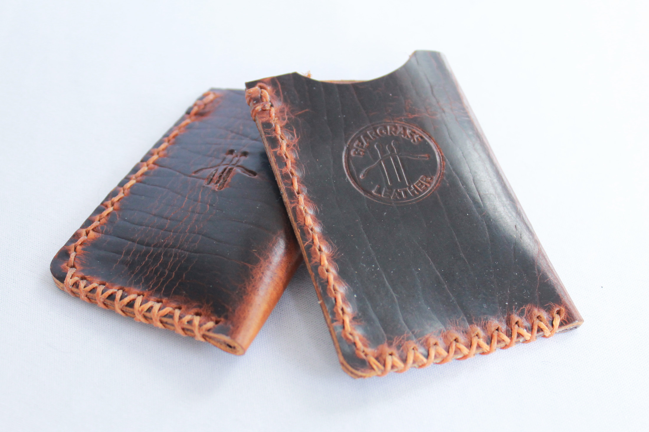 Leather Wallet made from American Bison