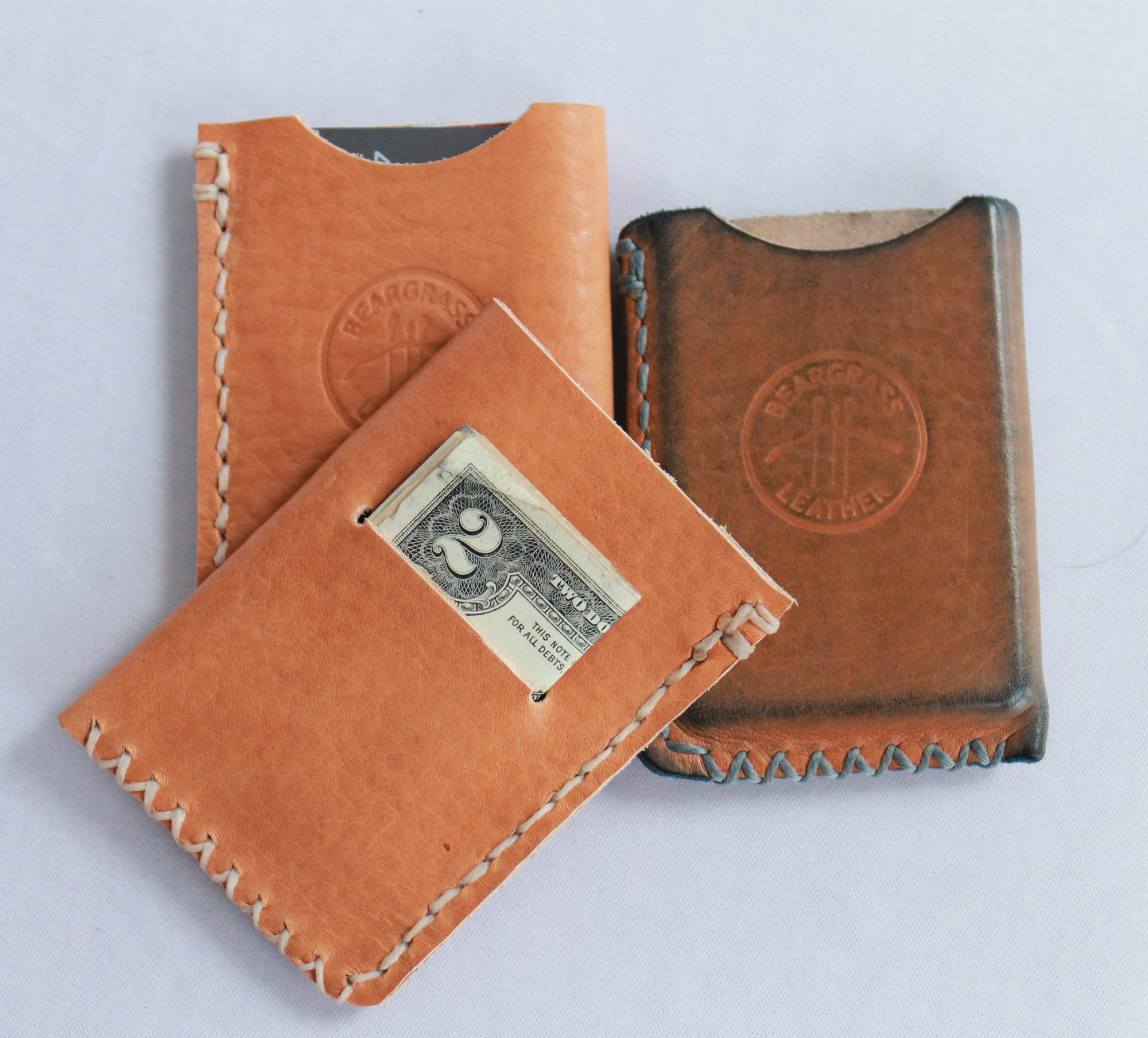 Horween Vegetable Tanned Wallet Made in USA