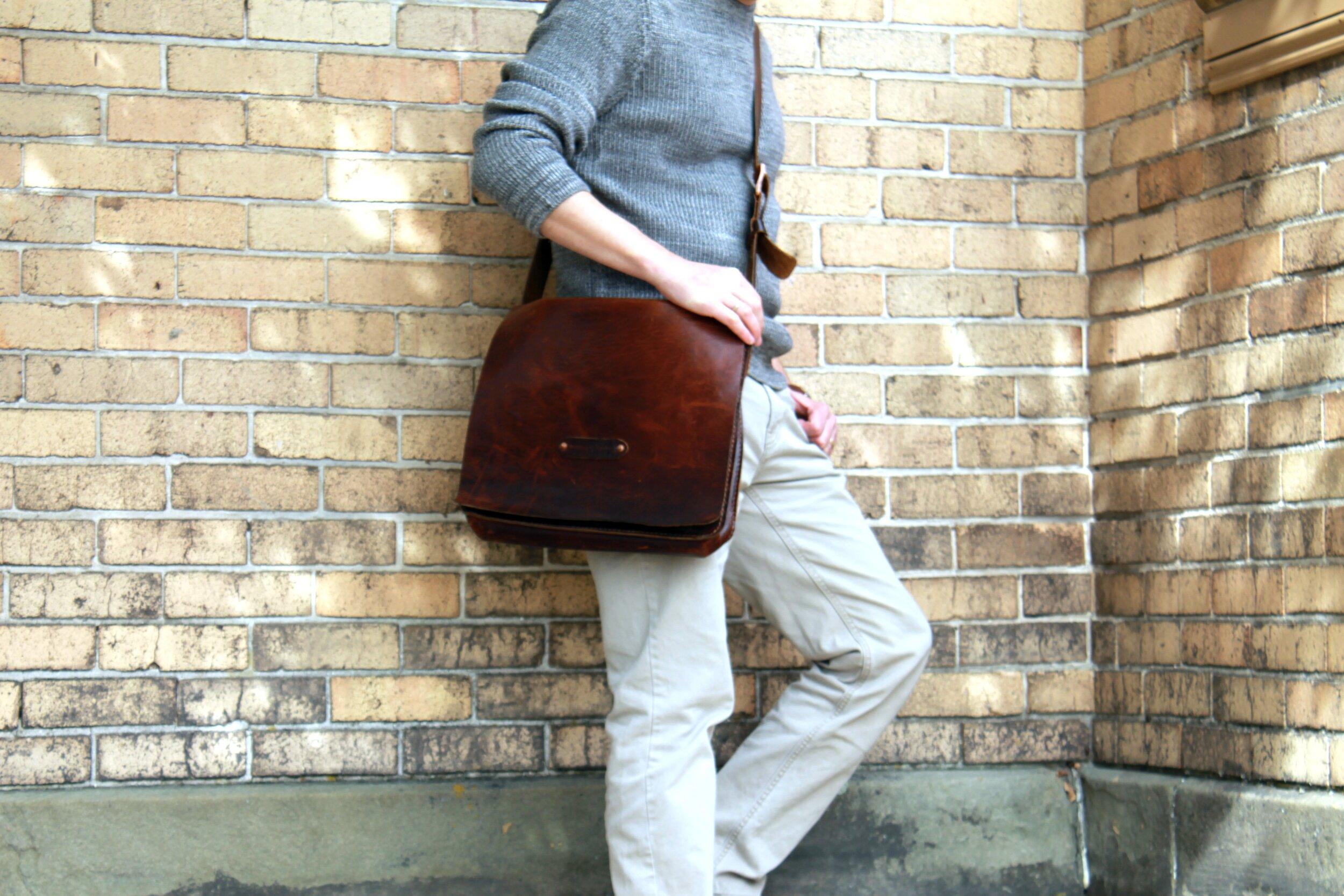 Bison Messenger Bag
