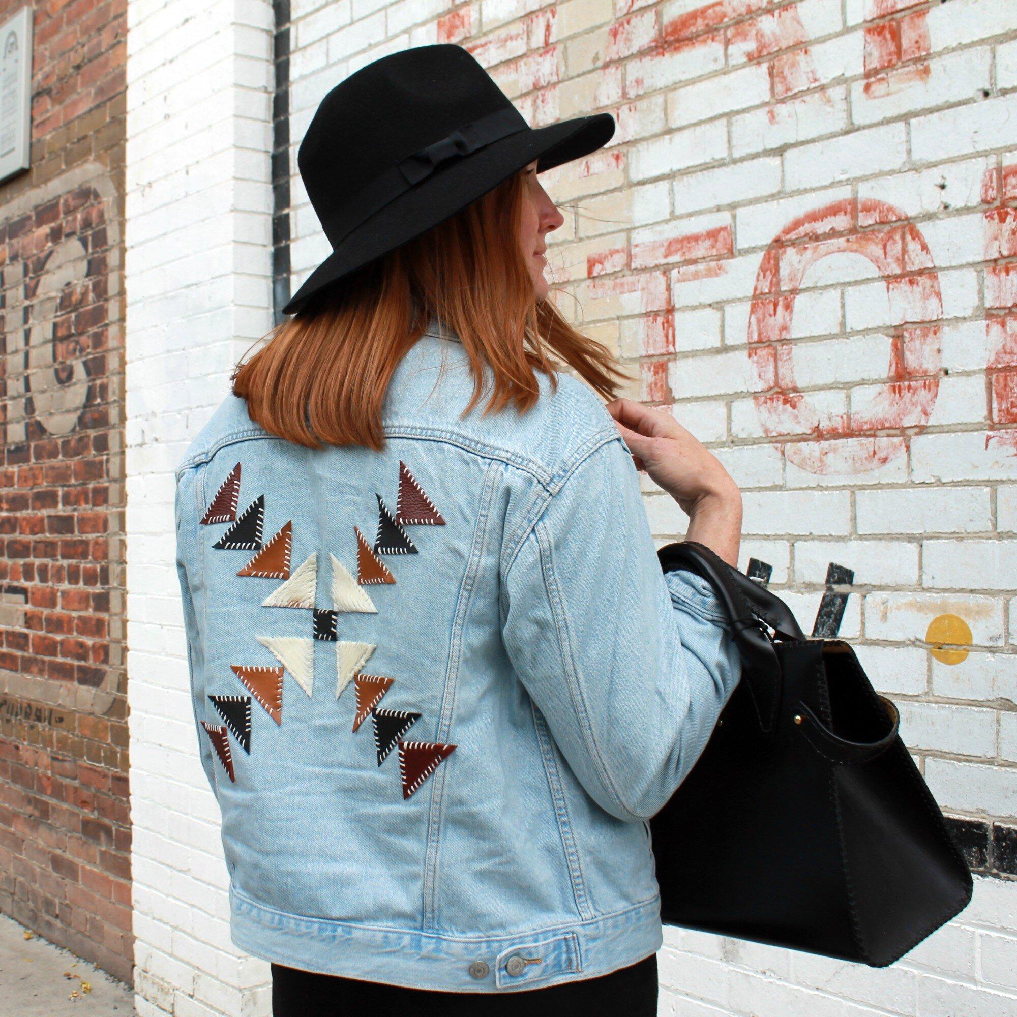 Customized Jean Jacket Design