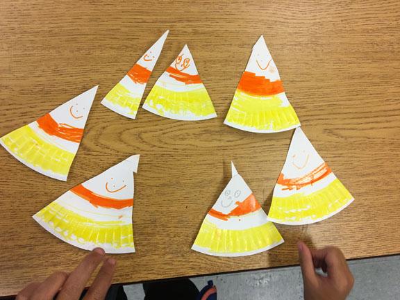 candy corn kids crafts