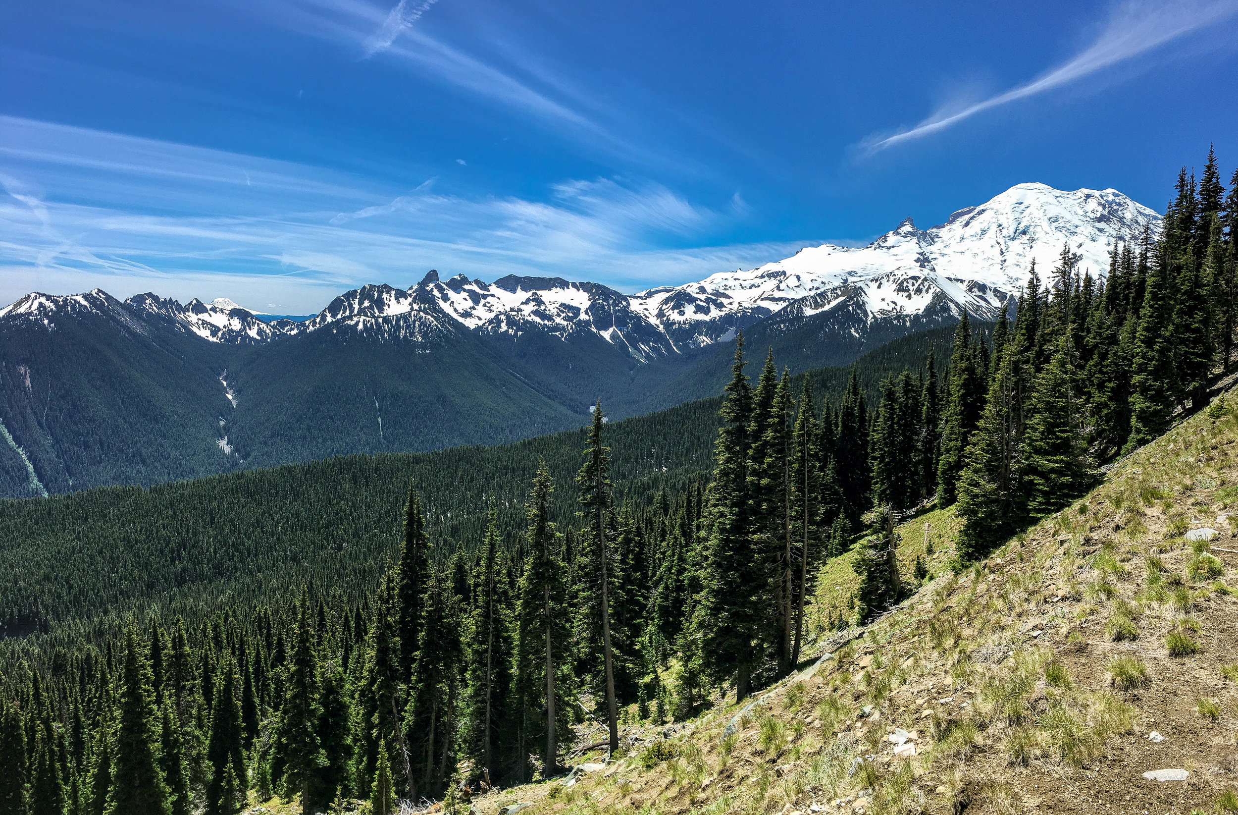 Rainier: Four Epic Passes -