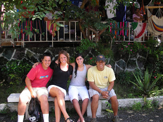 Stephen, Brittany, Christina & Chris (one of our translators who has a deep passion for the children of his country)