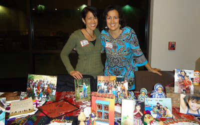 Susan and I represented All Blessings Intl. Adoptions at The Grove Church, Riverside's Adoption Service