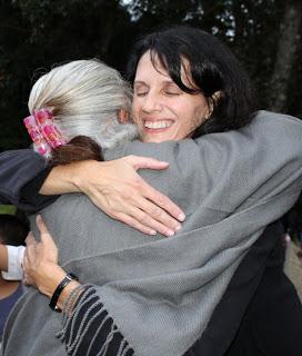 An unforgettable hug