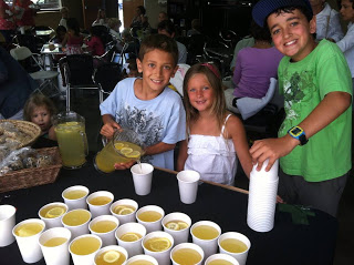 Emmy Weeks was inspired to do a lemonade stand for orphans     and spoke to me about it a few months ago.     Thanks Emmy for using your gifts and resources to bless others!