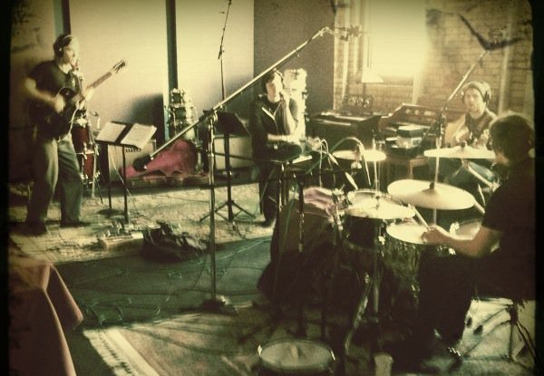 "recording the song ""  braggers    ""   –with eric lundgren, zack warpinkski,jake kirkman"