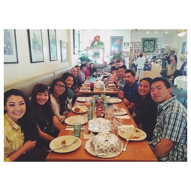 Annual family birthday brunch at Kona Kitchen