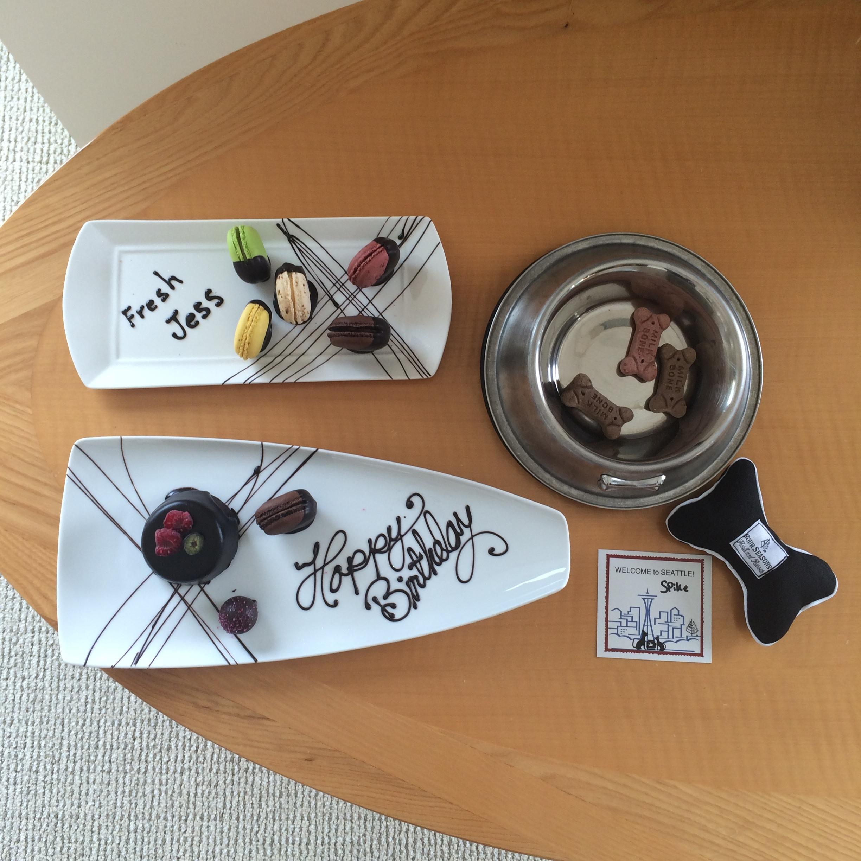 Birthday treats for everyone!