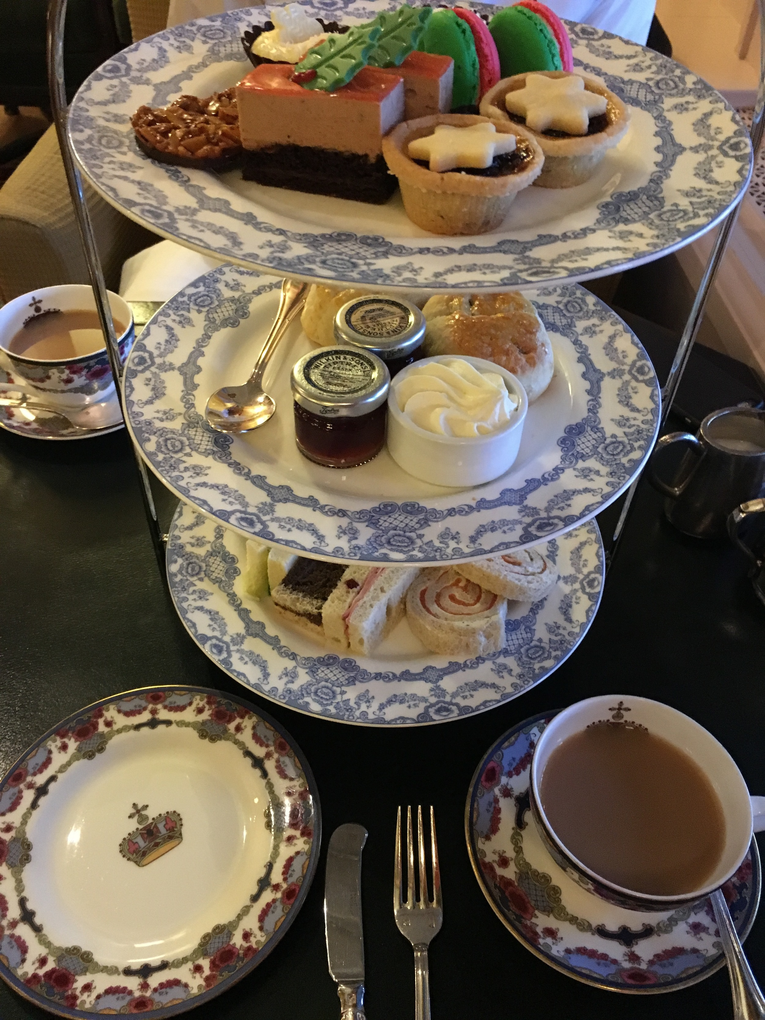 The goods alongside the Empress Blend tea