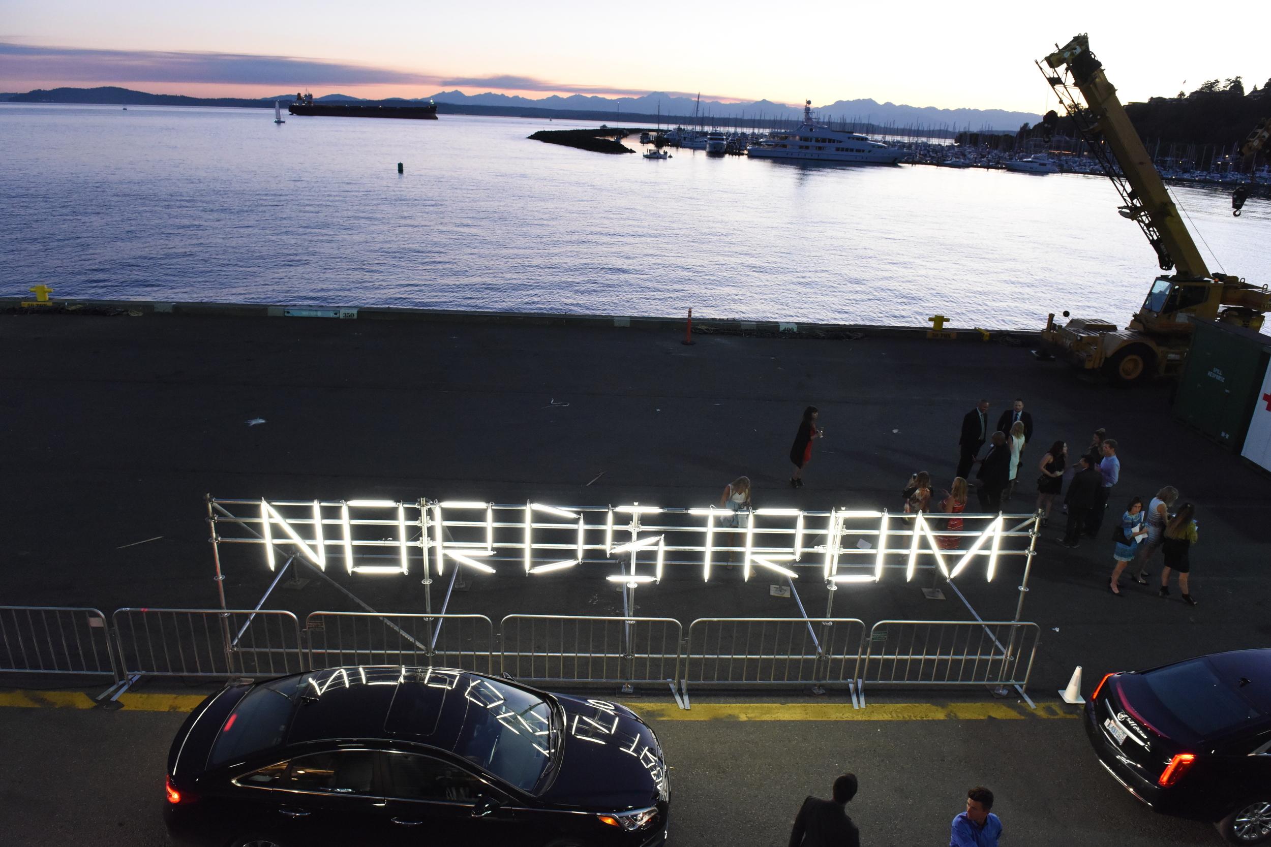 Nordstrom Designer Preview 2016 Light Sign