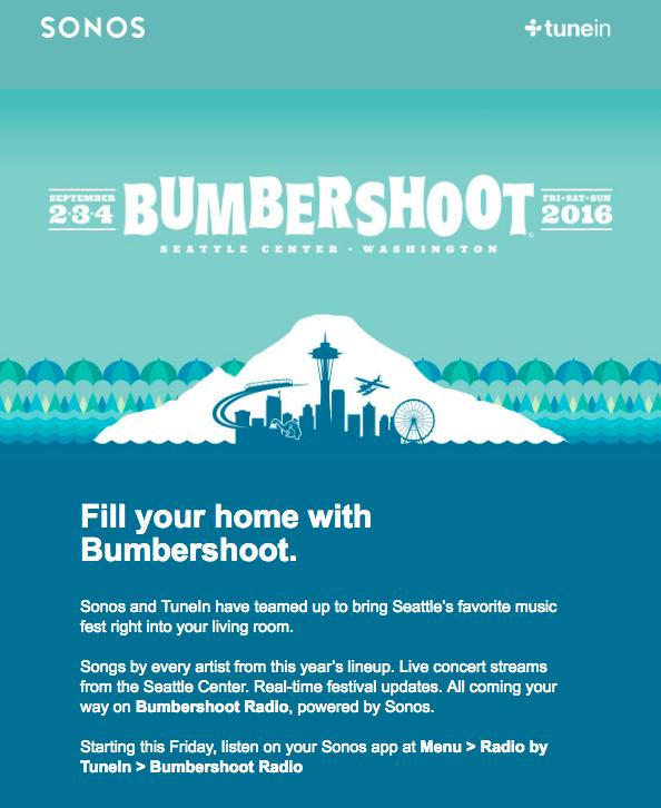 Bumbershoot Sonos