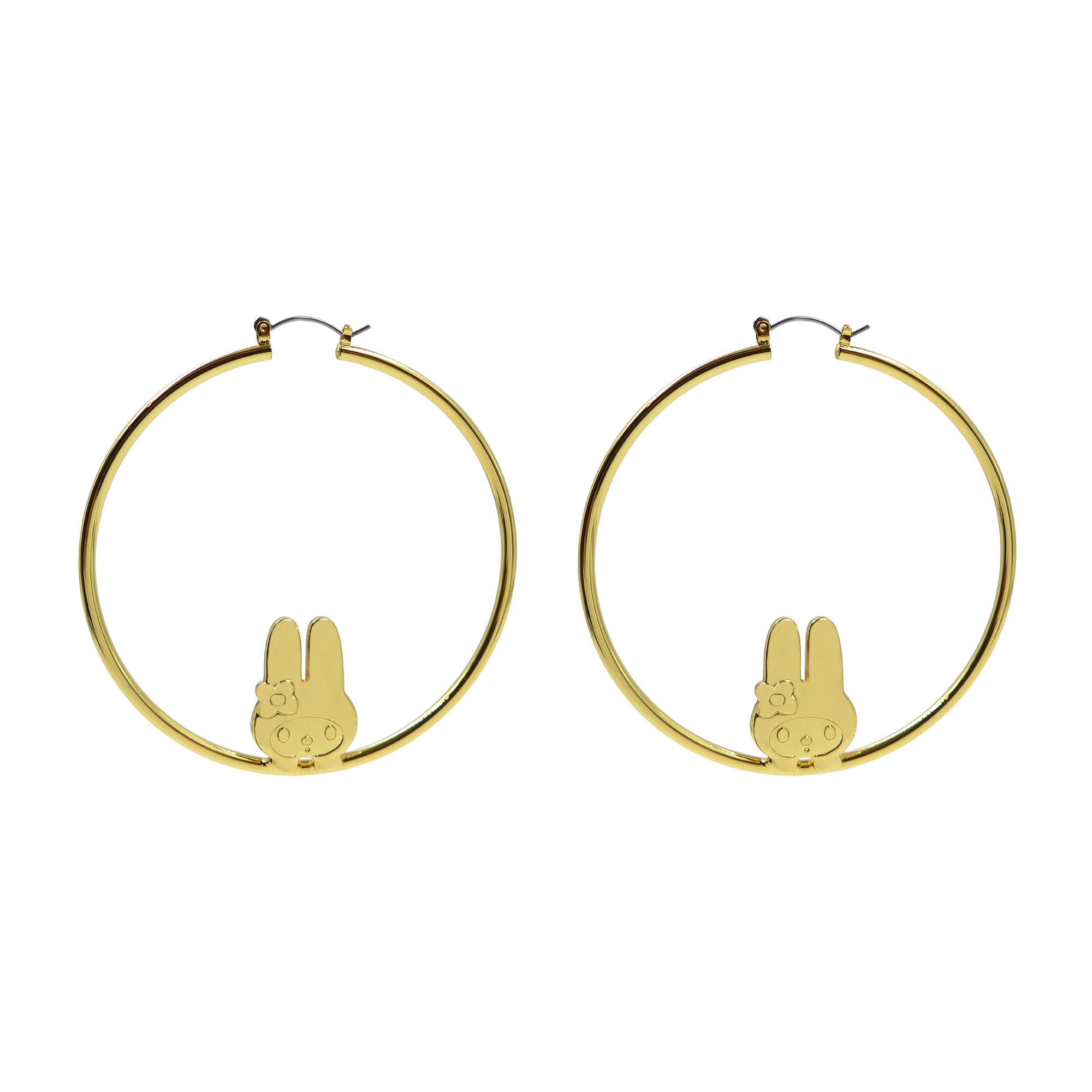 Melody Ehsani x My Melody   Hoop Earrings 01.jpg