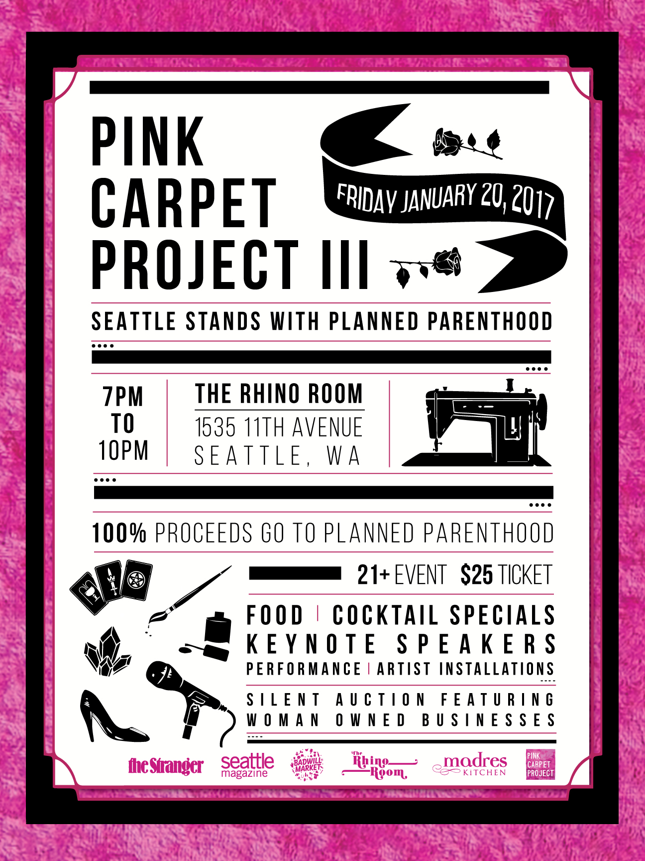 Pink Carpet Project Seattle