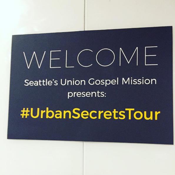 Seattle Union Gospel Mission Urban Secrets Tour