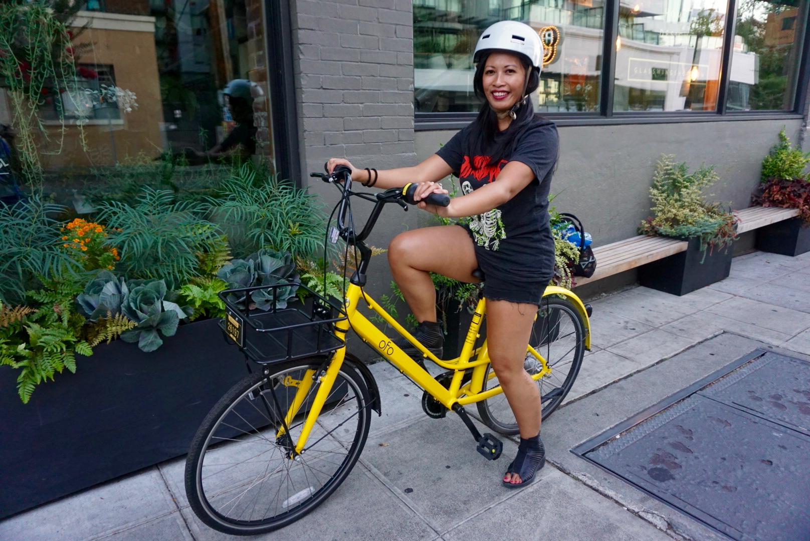 ofo Seattle bike share 2