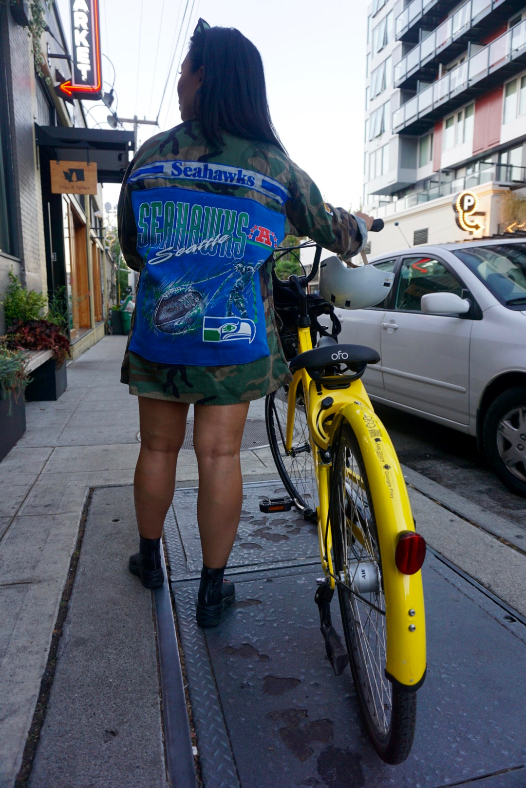 ofo Seattle bike share 6