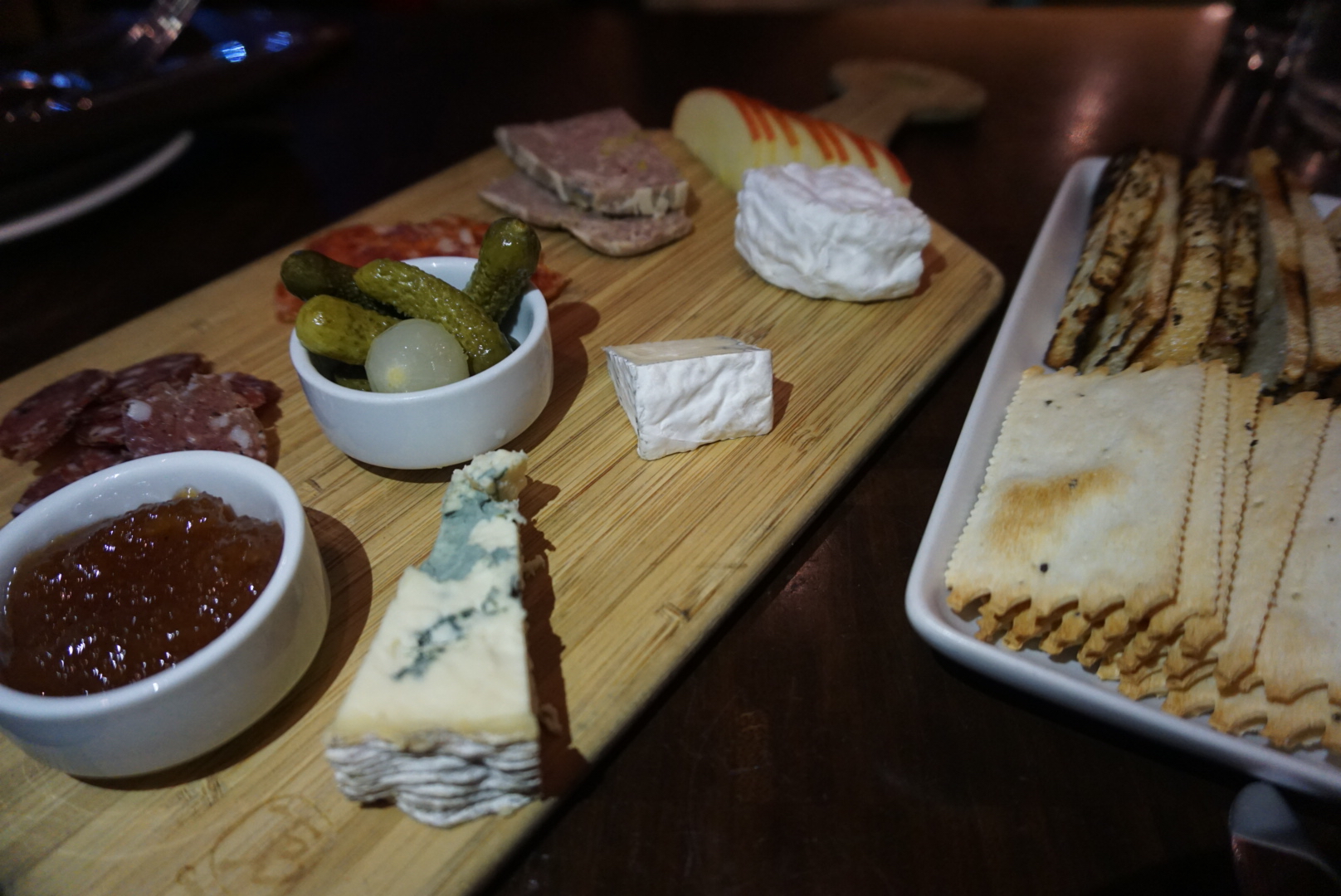 The charcuterie plate!