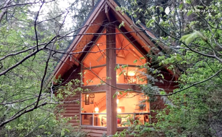 Modern cabin in Glacier, WA
