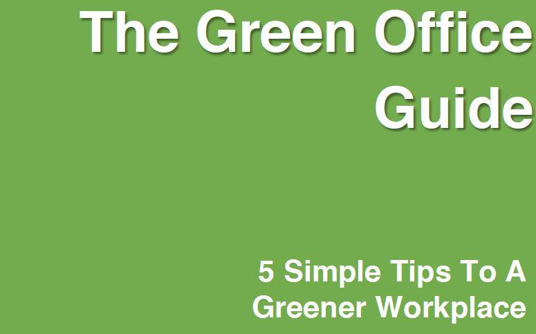5 Starting Steps - Green Office  eBook
