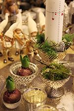 Lys, hyacinter og mos