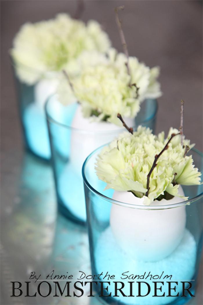 Blomsteridéer, Blomster, idé, dekoration, Annie Dorthe Sandholm