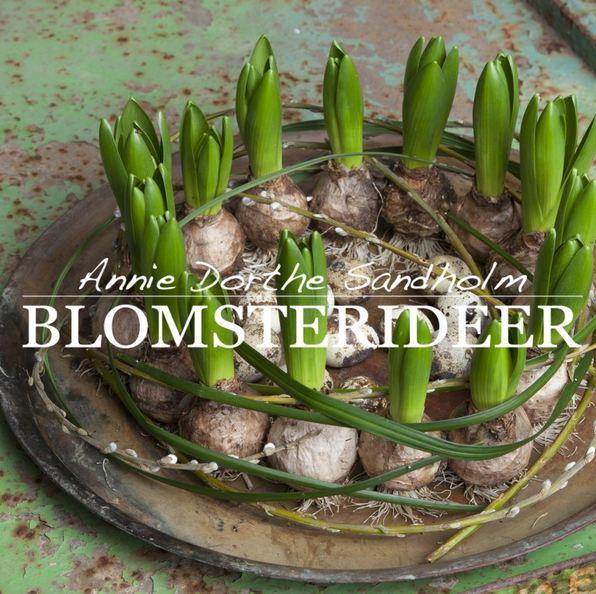 Påskendekoration, forår, forårsløg, påske, blomsterdekorationer, påskefrokost, hyacinter, hyacintløg, forårsgrene