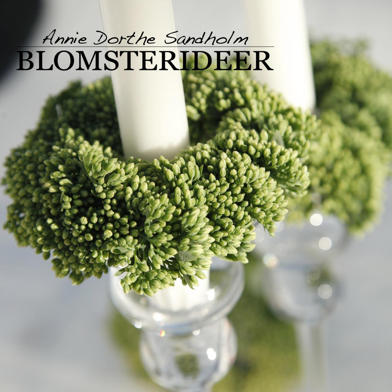 blomaterideer, blomsterdekoartioner, blomster