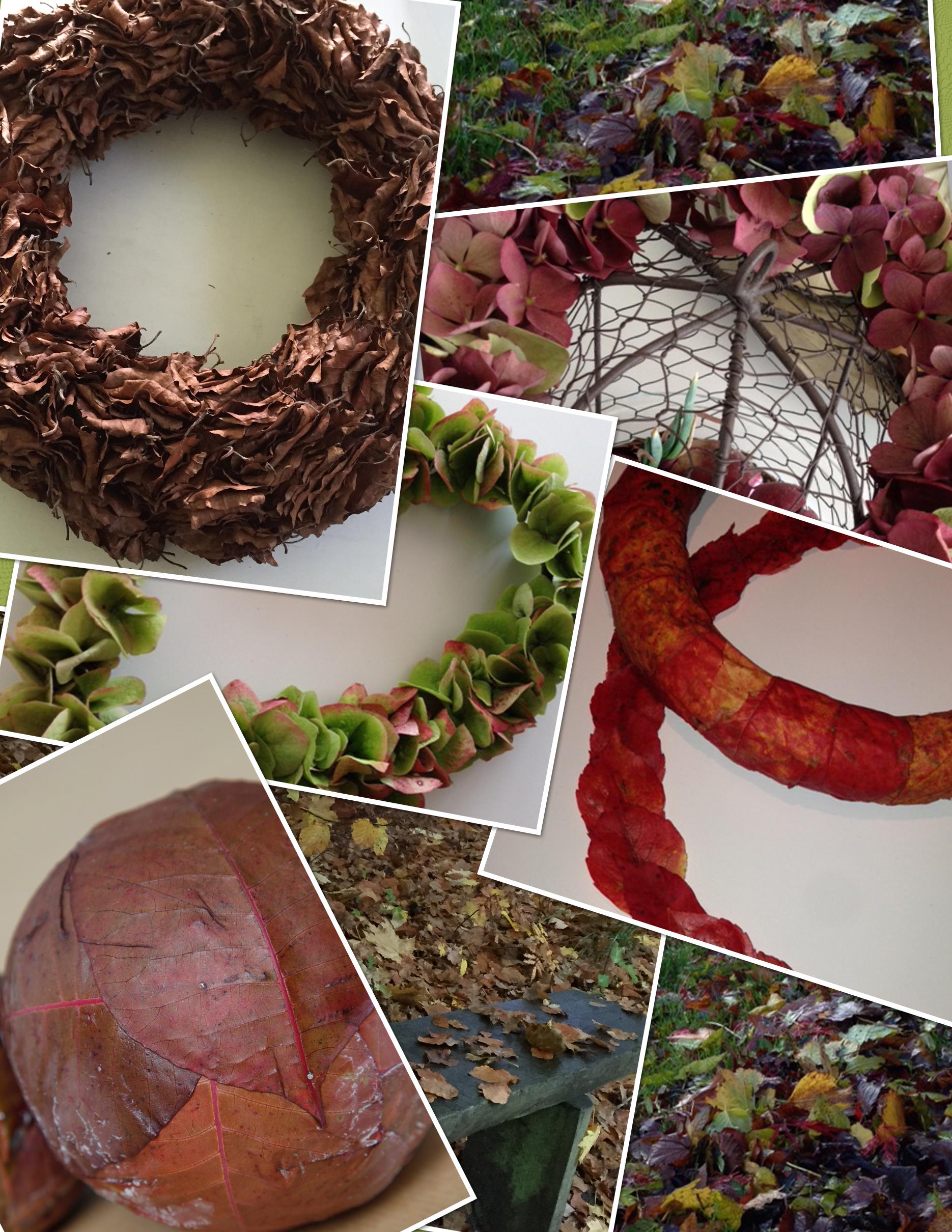Efterår, Blomsterideer, efterårsdekorationer, blomster, efterårsløv,