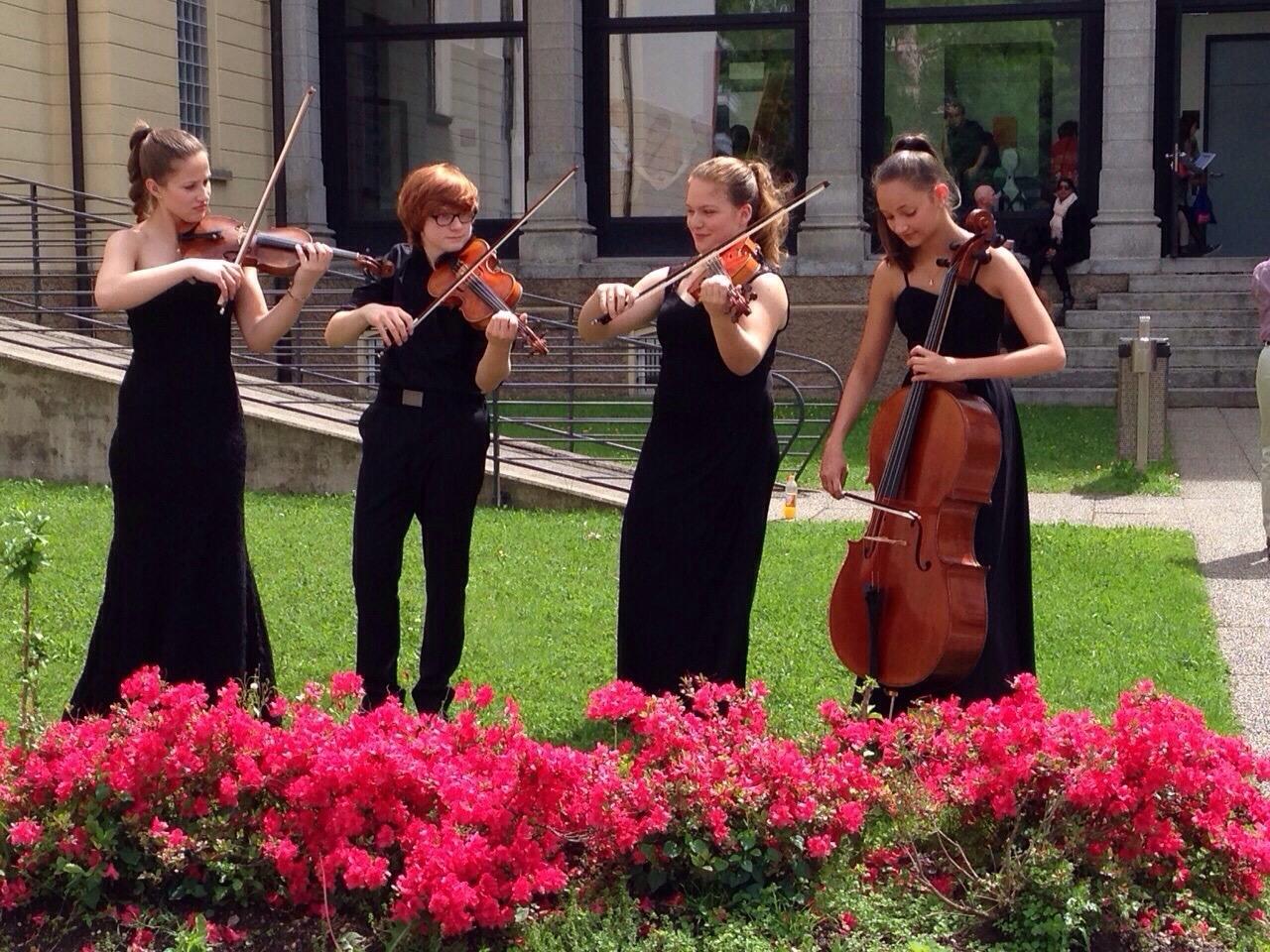 DAAS Quartett - Ariana Puhar, Silvan Dezini, Daphné Faist, Alina Morger