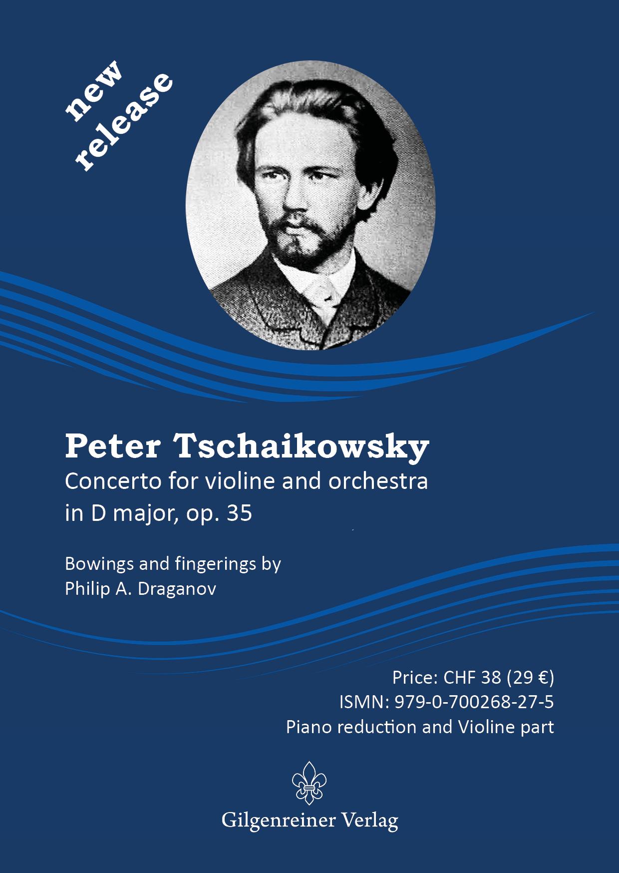 Draganov Tchaikovsky Violin Concerto