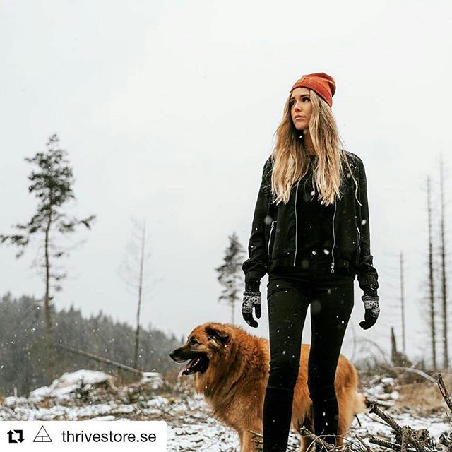 We love the latest pics our friends at @thrivestore.se posted. Find awsome organic wear at their store! And of course you find our beanies there!  Photo: @mikaelawatsfeldt  @louicepaulsson
