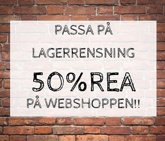 Passa på!!! Just nu har vi rea på vår webshop!! norrdesign.se