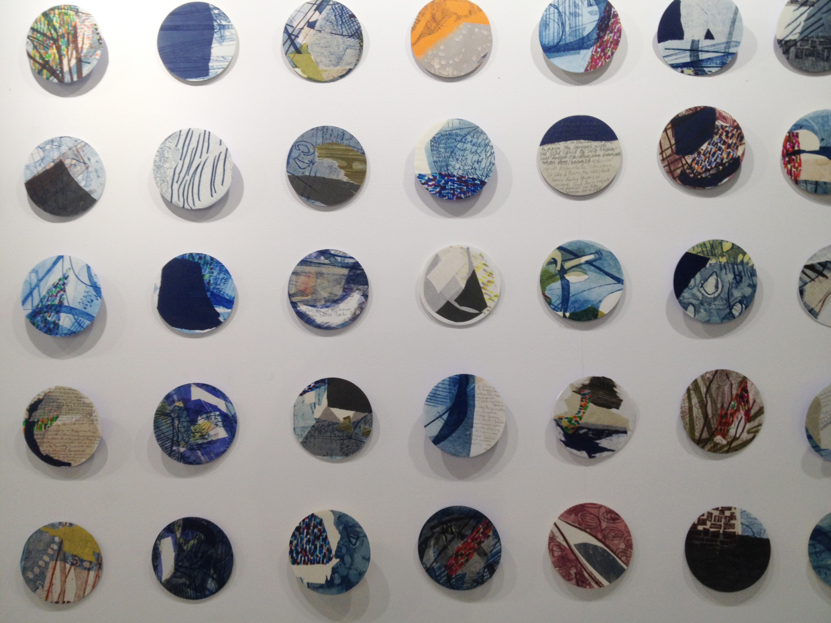 Lucy Turner wall installation