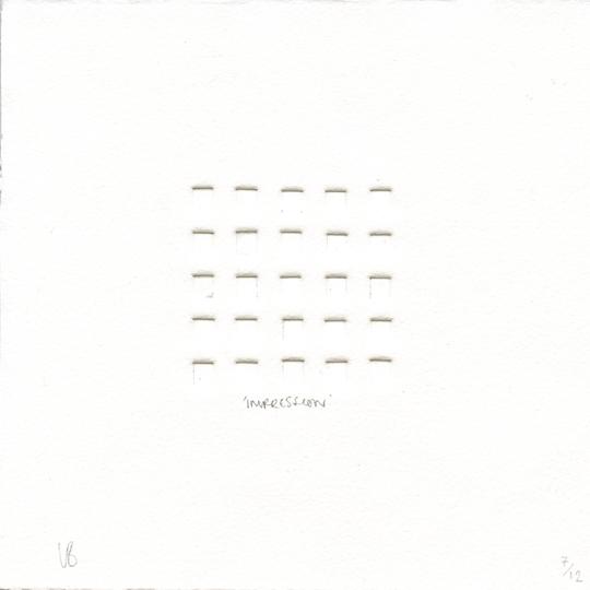 Bevan, Lauren: Impression etching