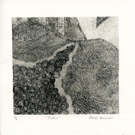 Brennan, Norah: Paths etching