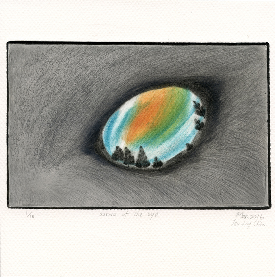 Chiu, Tzu-Ling: Aurora of the Eye intaglio