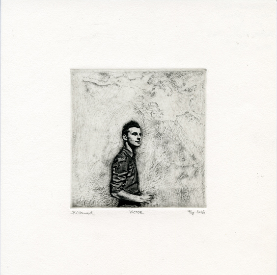 Chamard, Paul, Victor etching