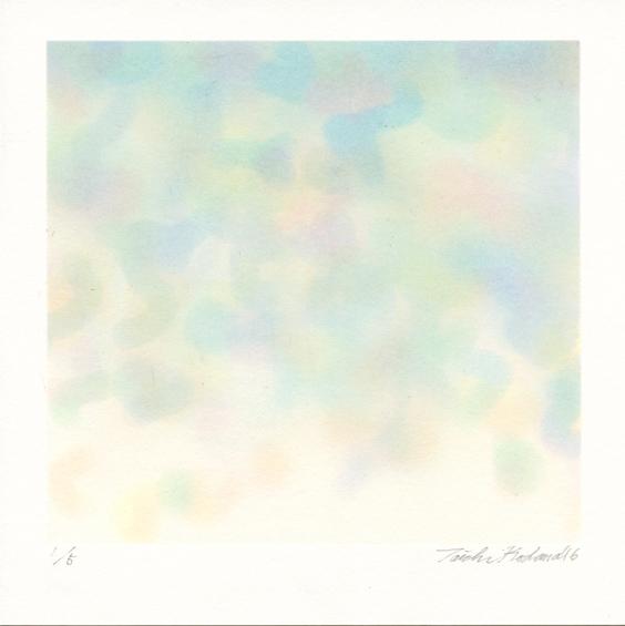 Kodama, Taichi: Light Colour screenprint