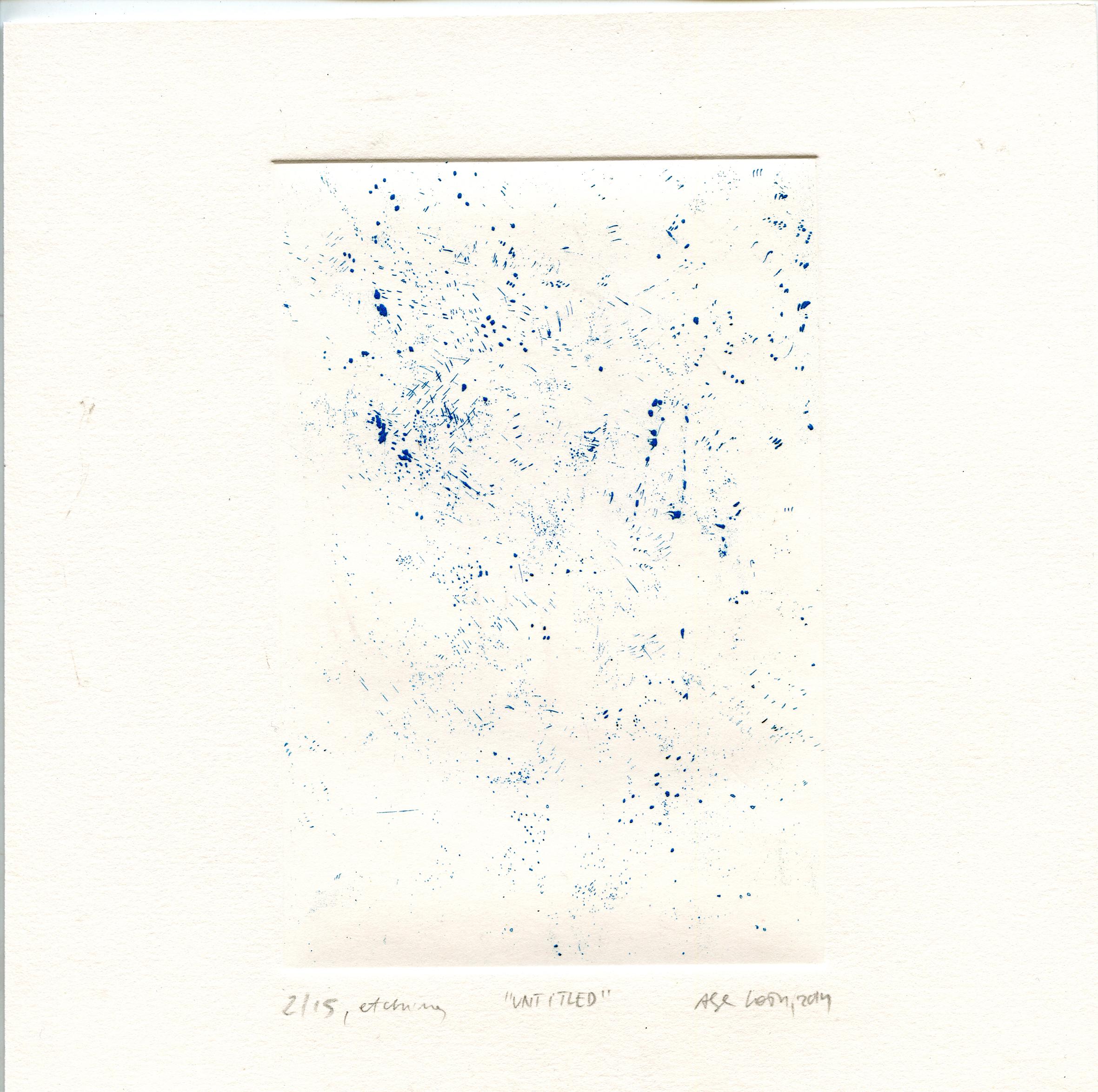 košar, Alja: Untitled etching