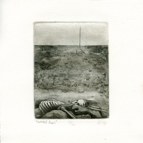 McGinnis, Dennis: Untitled Dream intaglio