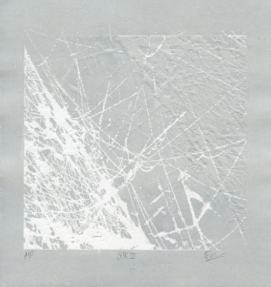 Savage, Karina: Silk II photopolymer embossed