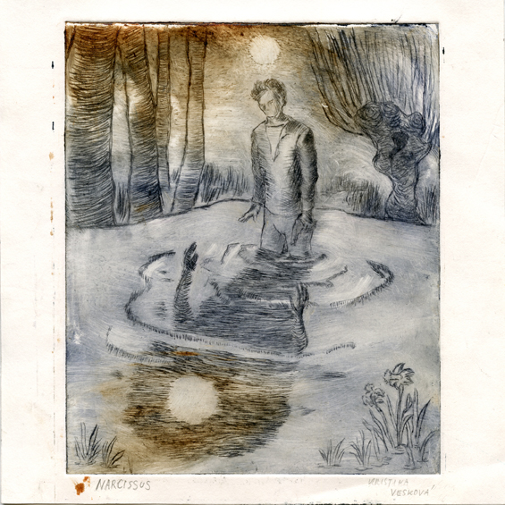 Veskova, Kristina: Narcissus drypoint