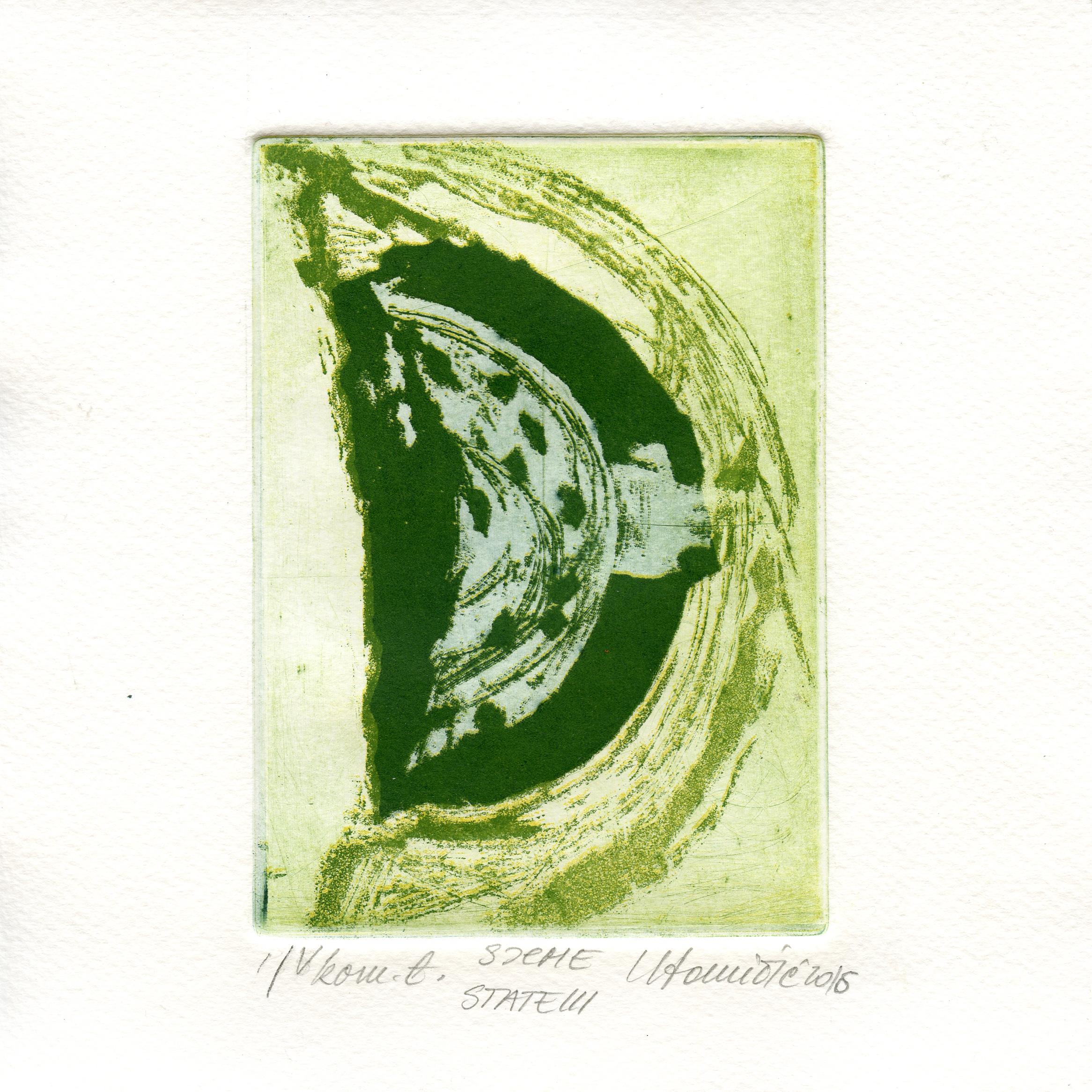 Tomicic, Ksenjia - Seed - etching, aquatint