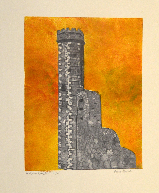 Remains of Antrim Castle