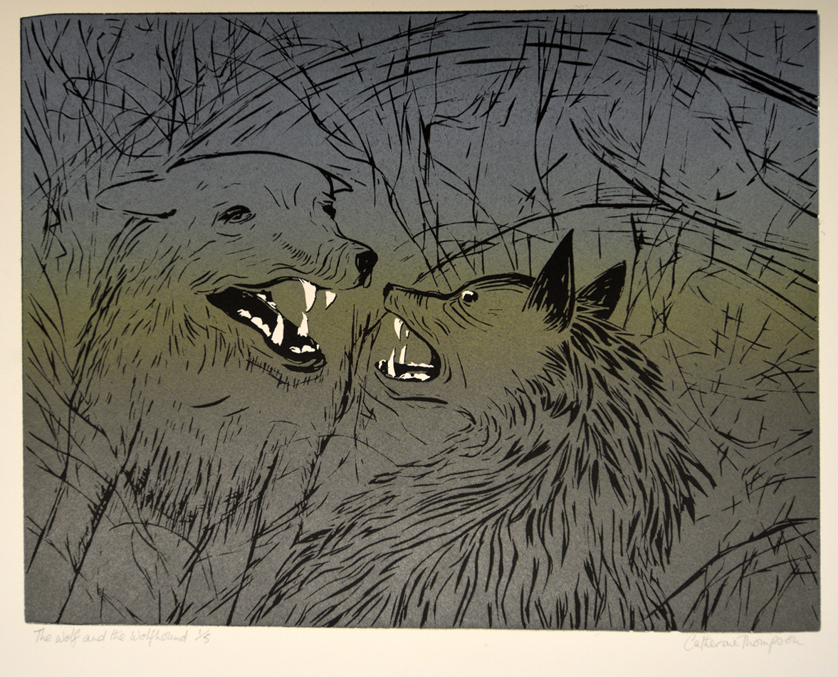 The Wolf and the Wolfhound